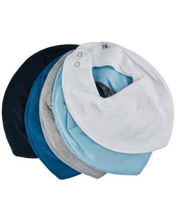 Smekke, Pippi, Light Dusty Blue, 5pk - One Size