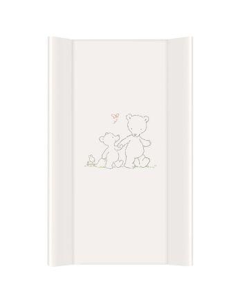 Stellepute, Ceba Baby, Hvit med bamse, 50x80 cm