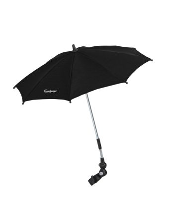 Parasoll, Emmaljunga, Outdoor Black
