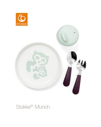 Stokke® Munch servise essensials, Soft mint