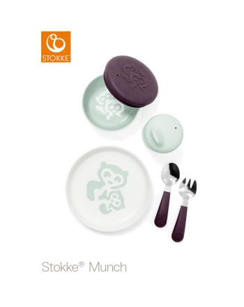 Stokke® Munch servise everyday, Soft mint