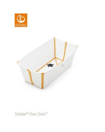 Stokke® Flexi Bath, White Yellow