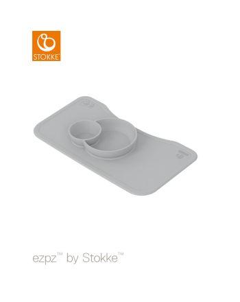 EZPZ by Stokke silikonmatte Steps tray, Grey