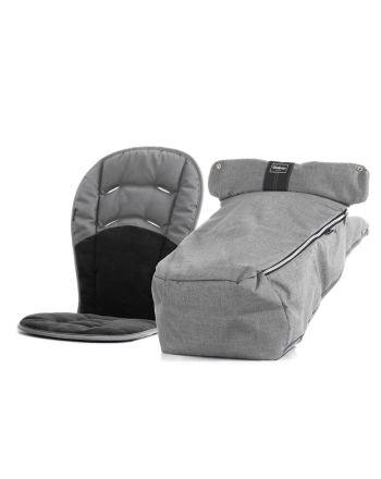Kjørepose, Emmaljunga, Ergo, Lounge Grey