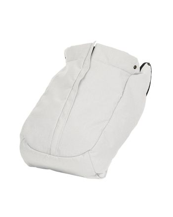 Emmaljunga,Fottrekk NXT FLAT Leatherette White