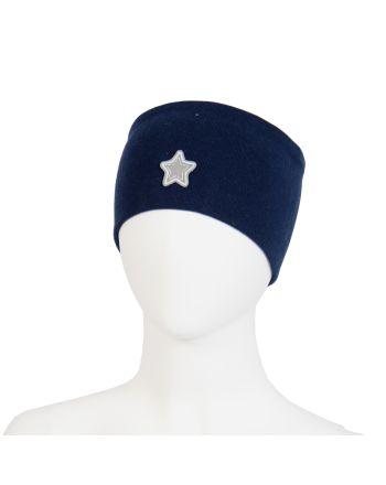 Kivat Pannebånd - Mørkeblå m/stjerne