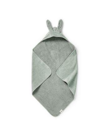 Elodie, Hooded Towel, Mineral Green