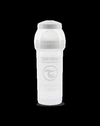 Flaske, Twistshake, Anti-Colic - 260ml, Hvit