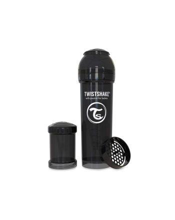 Flaske, Twistshake, Anti-Colic - 330ml, Sort
