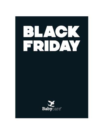 Plakat, BLACK FRIDAY, 50 x 70 cm