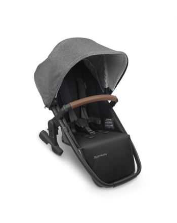 Vogn, UPPAbaby-Søsken Sete - GREYSON (grey melange/black/saddle leather)