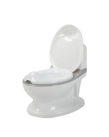 Babydan potte m/flush lyd, hvit