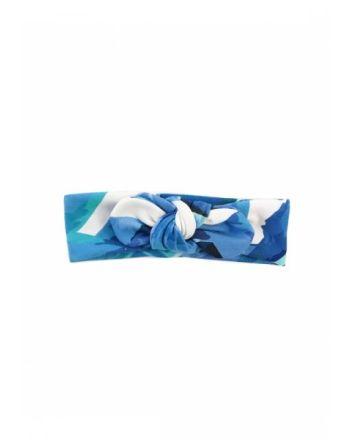 Little Kingdom headband blue leaf