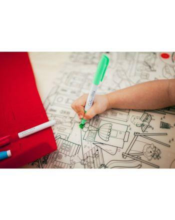 Prince Lionheart Colour & Draw mat, ZOO