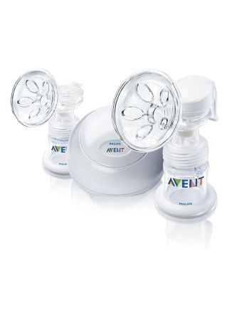 Dobbel elektrisk brystpumpe, Natural, Avent