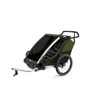 Sykkelvogn, Thule, Chariot Cab 2, Cypress Green