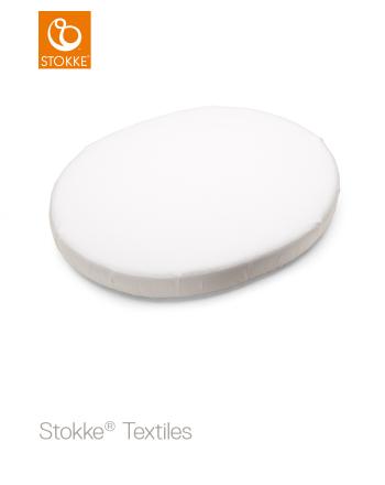 Formsydd laken, Stokke® Sleepi™ Mini, Hvit, 80cm
