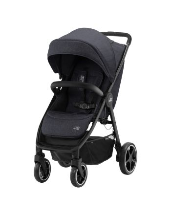 Britax B-Agile R, Black Shadow m/sort håndtak