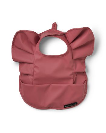 Smekke, Elodie Details, Baby Bib - Winter Blush Red