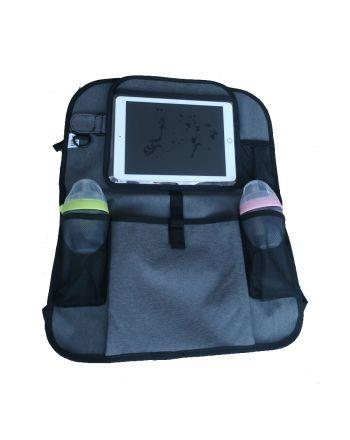 Tablet- og Setebeskytter, 4ME, Gråmelert