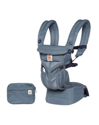 Bæresele, Omni 360 Cool Air, ErgoBaby, Mesh Oxford Blue