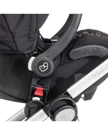 Bilstoladapter, City Select/Select LUX/Premier, Babyjogger, sort