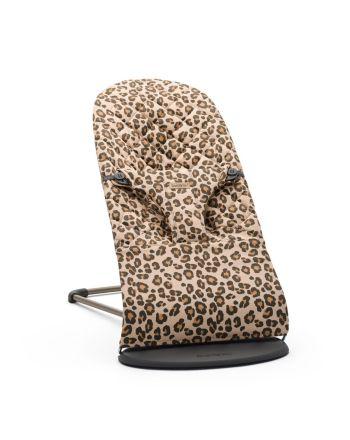BabyBjørn Bliss Vippestol Cotton, Beige/Leopard