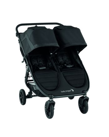 Tvillingvogn, City Mini GT 2 Double, Babyjogger, Jet
