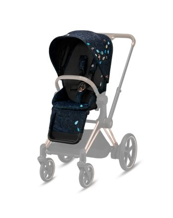 Cybex, Priam Seat Pack FE Jewels of Nature - Dark Blue