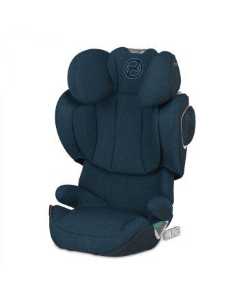 Bilstol, Cybex Solution Z-Fix Plus - Mountain Blue Turquoise