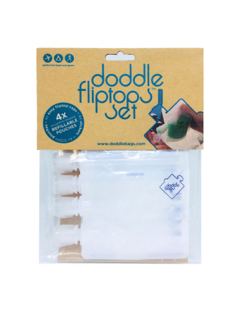 Doddle Fliptop Set 4 pk.