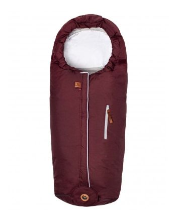 Easygrow Norse Hood vognpose, Wine red