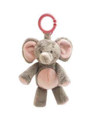 Leke, My First Elephant, clip on, My Teddy, Pink