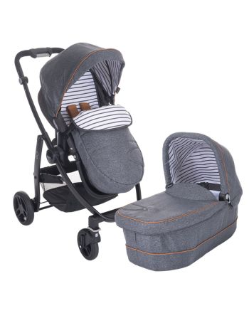 Graco Evo Avant inkl. bag Bretton Stripe