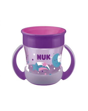 NUK, Evolution Mini Magic Cup, Glow In The Dark - Purple