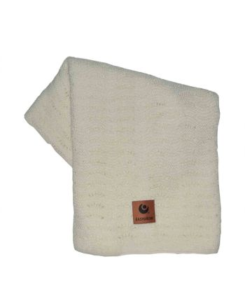 Easygrow Grandma Wave Blanket, Off White