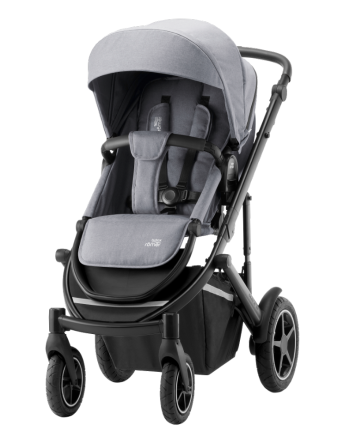 Barnevogn, Britax Smile III, Frost Grey/Black Handle