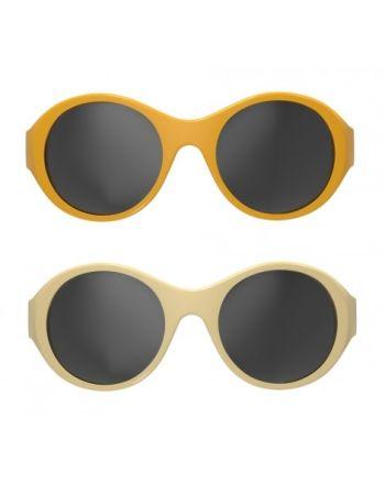 MOKKI Solbriller 0-2 År - Gul 2pk