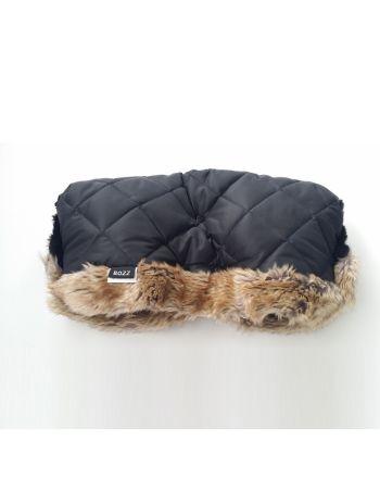 Bozz Håndvarmer, Black squares fur