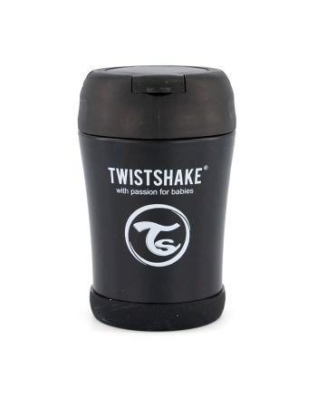 Mattermos, Twistshake, Black, 350ml
