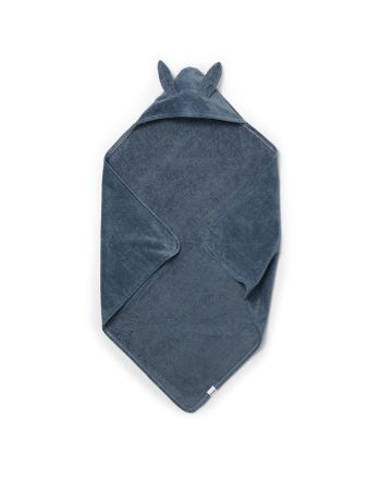 Elodie, Hooded Towel, Tender Blue Bunny