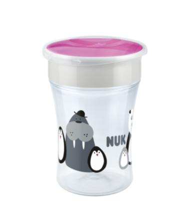 NUK, Evolution Magic Cup - Limited Edition, Monokrom, Rosa