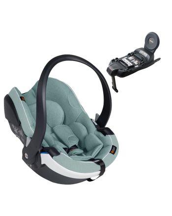 Babystolpakke, Besafe, iZi Go Modular X1, Sea Green Melange + Base