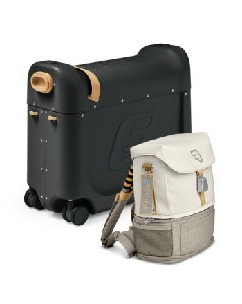 Reisesett Med Bedbox+Crew Backpack, Stokke, Black/White