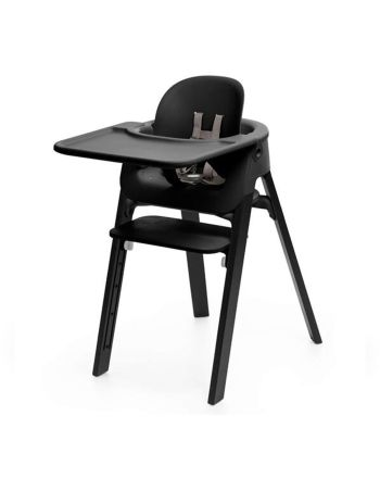 Pakke, Stokke® Steps Black Oak + Baby Set + Tray