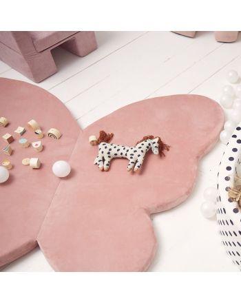 Kidkii Butterfly Lekematte, Baby pink velvet