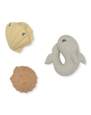 Badeleke, Konges Sløjd, Whale/Shell/Clam