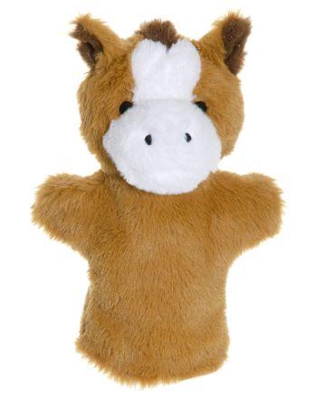 Hånddukke Hest 28 cm