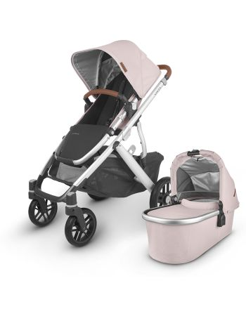 UPPAbaby-VISTA V2 -Alice(Dusty Pink/silver/saddle leather)