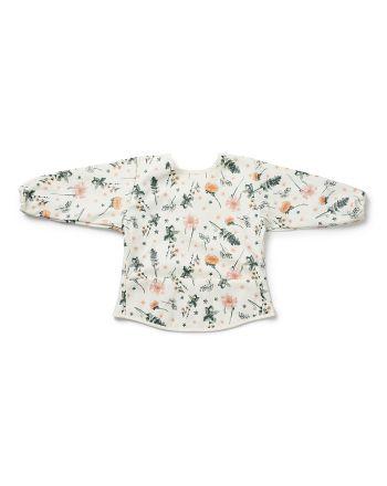 Elodie - Langermet Baby Bib - Meadow Flower